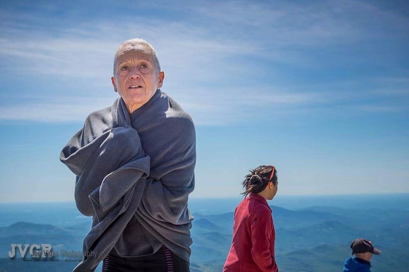 Au Mont Washington, une de courses préférées de Jacqueline