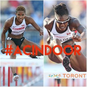 LES OLYMPIENNES PHYLICIA GEORGE ET NIKKITA HOLDER SERONT AUX CHAMPIONNATS CANADIENS HERSHEY